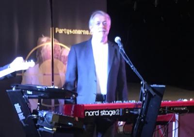 JB on stage
