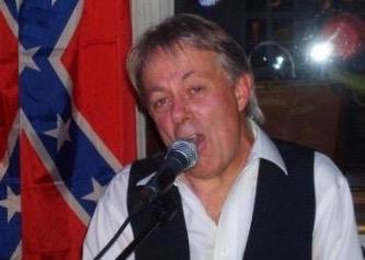 Jens med sydstatsflag